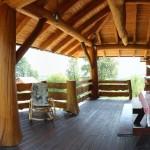 Holzhaus Unterkunft am Plitvicer Nationalpark