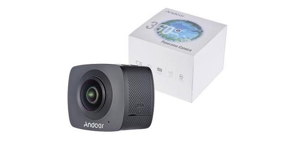 Andoer 360 Grad Video Kamera für unter 200 Euro