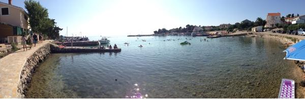Kroatien Strandfoto Istrien