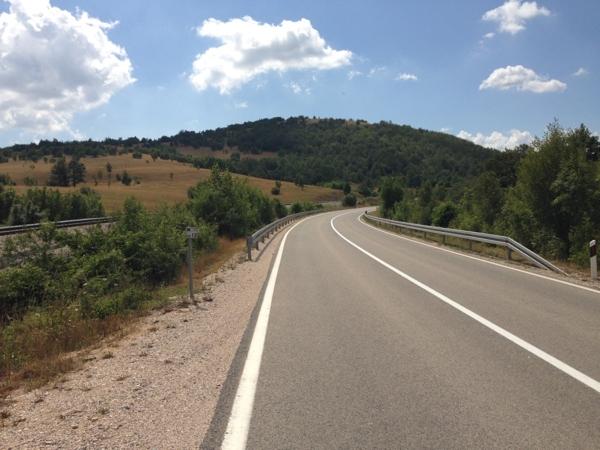 Straße in Kroatien Mietwagen